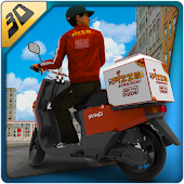 Download Full 3D Pizza Boy Rider Simulator 1.0.9 APK