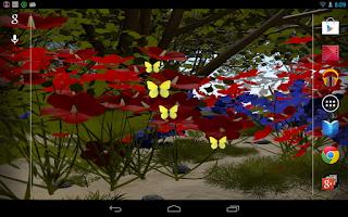 Screenshot of Butterflies Live Wallpaper