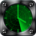 Radar Clock free livewallpaper icon