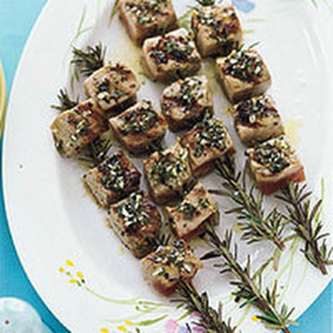 Rosemary Grilled Tuna