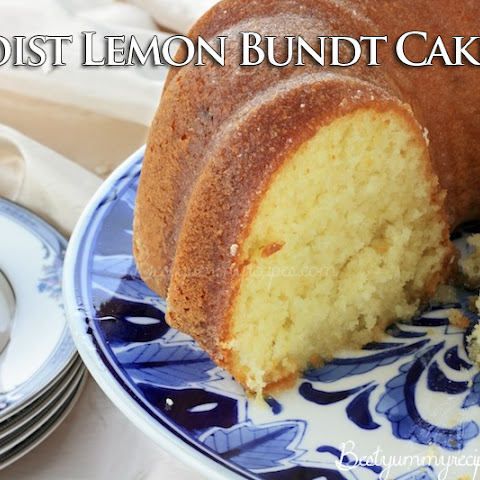 Lemon And Blueberry Bundt Cake Uk