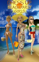Screenshot of Dress Up – Beach Party Girls