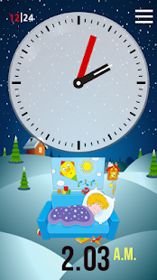 Clock Learning for Kids - screenshot