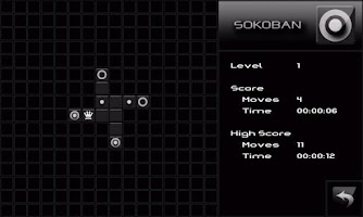 Screenshot of Sokoban