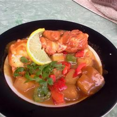 Tangy Hawaiian Chicken