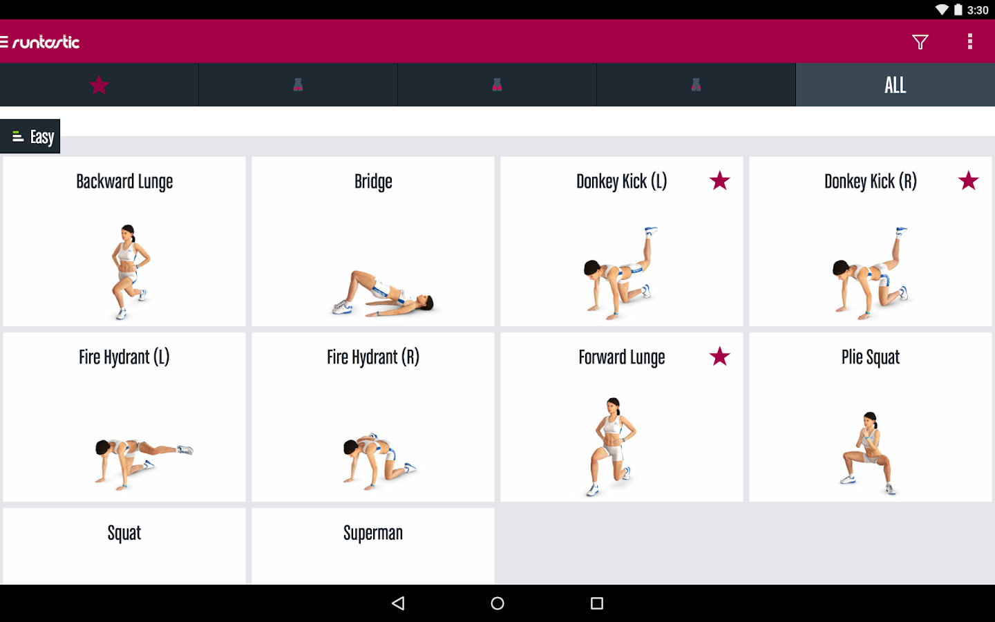 Runtastic Butt Trainer Workout Screenshot 10