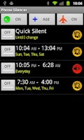 Screenshot of Phone Silencer Free