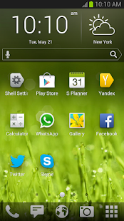 Yandex.Shell (Launcher+Dialer) Screenshot