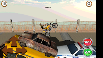 Screenshot of 3D Motocross Bike: Industrial
