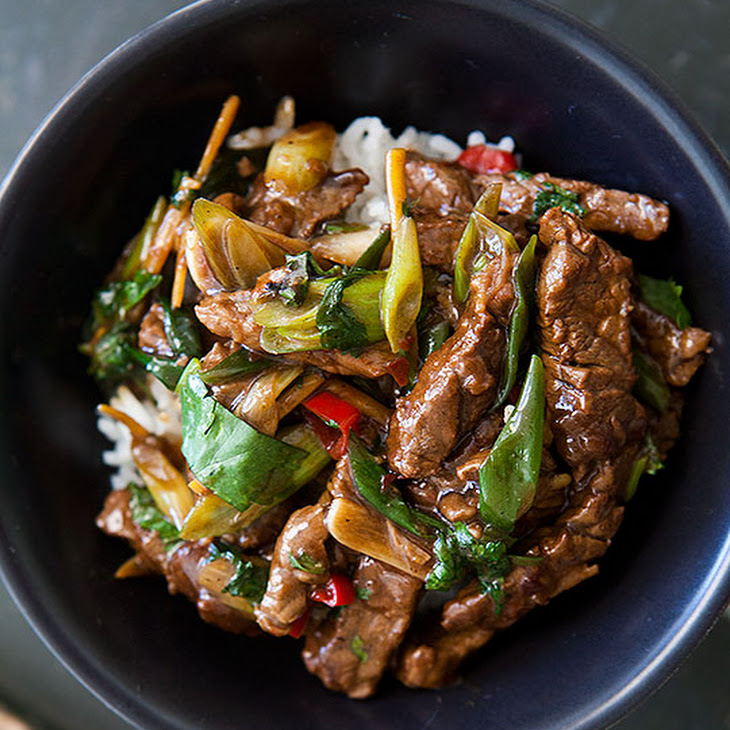 stir fry wild mushroom and beef stir fry stir fry ginger beef recipe ...
