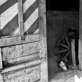 Weaver by Sigit Irmawan - Black & White Portraits & People