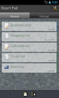 Screenshot of SmartPad - Notes, Todo & Snaps