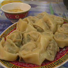 Steamed Pork Wonton Dumplings