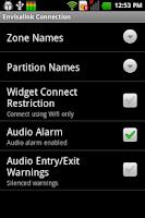 Screenshot of DSC Security Keypad