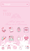 Screenshot of Etude House dodol theme