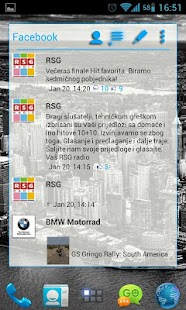 APW Theme SteelBlue Light - screenshot