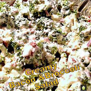 Cari's Creamy Bacon & Broccoli Salad