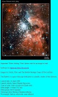Screenshot of Hubble Image Viewer