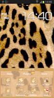 Screenshot of GO Launcher EX Leopard Theme