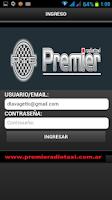 Screenshot of Pasajeros Radio Taxi Premier