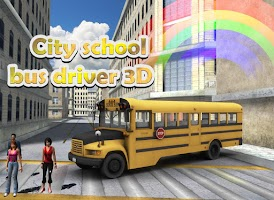 Screenshot of City School Bus Driver 3D