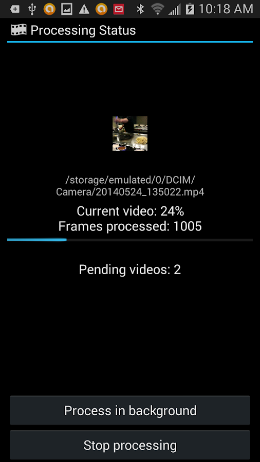 Video Timestamp Add-on Screenshot 4
