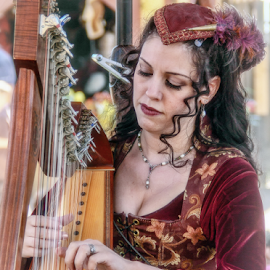 Maiden Of Music by Elaine Malott - News & Events Entertainment ( music, red, events, people, women, entertainment, renaissance festivals )