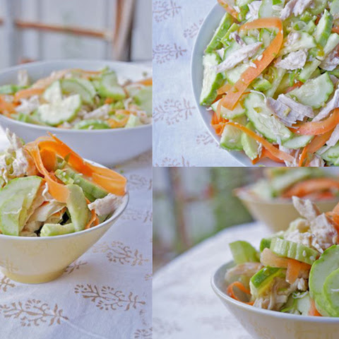 Thai Chicken Cucumber Salad