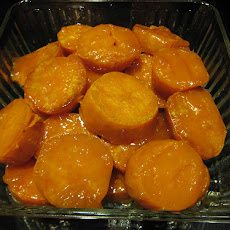 Oven Roasted Honey-Glazed Sweet Potatoes