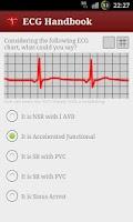 Screenshot of Heart ECG Handbook - Lite