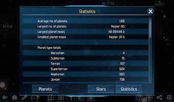 Screenshot of Exo planets Explorer 3D HD