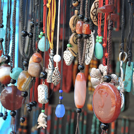 Necklaces by Rahul Dusa - Artistic Objects Clothing & Accessories ( artistry, colors, beads, stones, necklace )