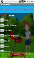 Screenshot of Calculadora de Churrasco -Beta