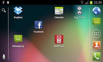 Screenshot of Stock Launcher - Android 4.1