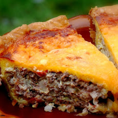 Roadside Diner Cheeseburger Quiche