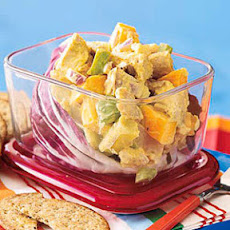 Chicken Salad with Mango and Apple