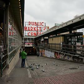 by Frank Buist - City,  Street & Park  Street Scenes
