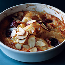 Fruit-and-Almond Gratins