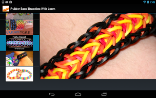 Screenshot of Rubber Band Bracelets Guide