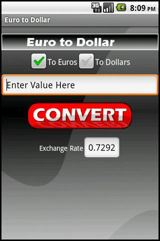 Euro to Dollar Ad Free