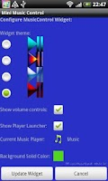 Screenshot of Mini Music Control