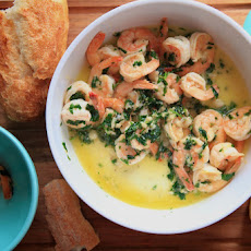 Sautéed Shrimp with Lemon, Garlic & Parsley