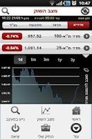 Screenshot of בנק הפועלים - מסחר בשוק ההון