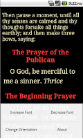 Screenshot of English Orthodox Prayers(free)
