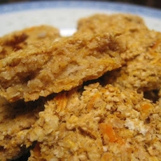 Sweet Potato Low-Fat High Fibre Cookies