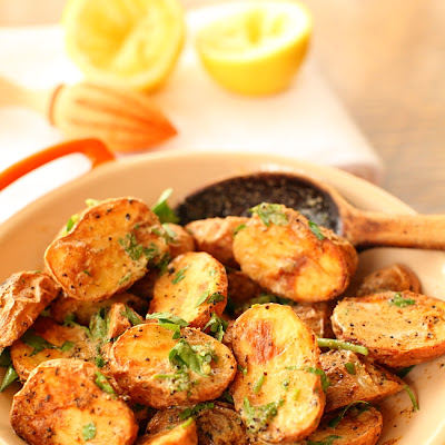 Coriander-Roasted Potato Salad