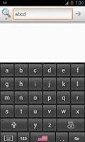 Screenshot of Alphabetical Keyboard