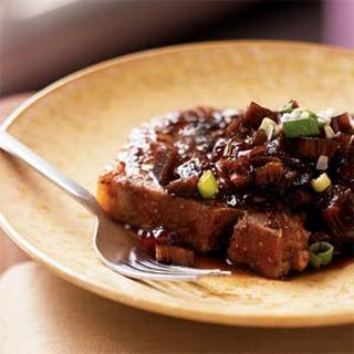 Pork Chops With Rhubarb Recipes