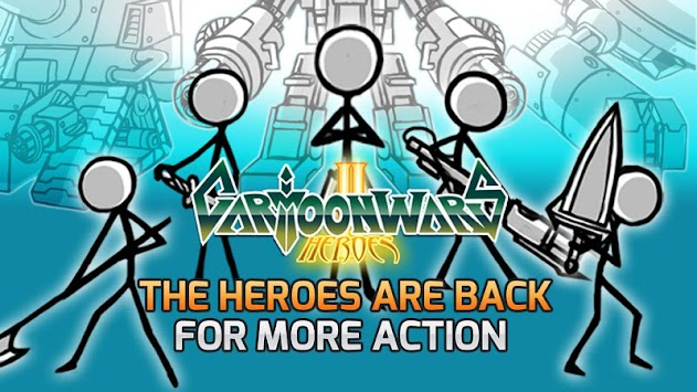 Cartoon Wars 2 APK screenshot thumbnail 1