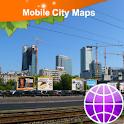 Warsaw Street Map